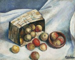 Still Life with Apples | Abraham Weinbaum | Oil Painting