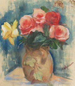 Flowers | Abraham Weinbaum | Oil Painting