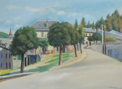 Midday in Condat | Abraham Weinbaum | Oil Painting