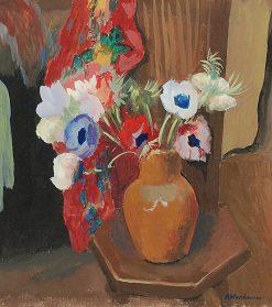 Anemones | Abraham Weinbaum | Oil Painting