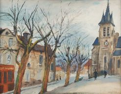 French Town | Abraham Weinbaum | Oil Painting