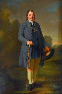 Portrait of Anders Mattsson | Per Krafft the Elder | Oil Painting