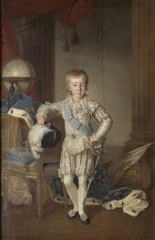Portrait of Gustaf IV Adolf of Sweden   Per Krafft the Elder   Oil Painting