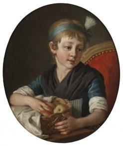The Artists Daughter Wilhelmina | Per Krafft the Elder | Oil Painting