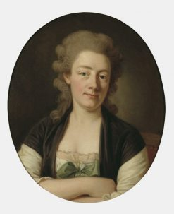 The Artists Wife Maria Wilhelmina | Per Krafft the Elder | Oil Painting