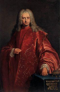 Portrait of Doge Vincenzo Querini | Bartolomeo Nazari | Oil Painting