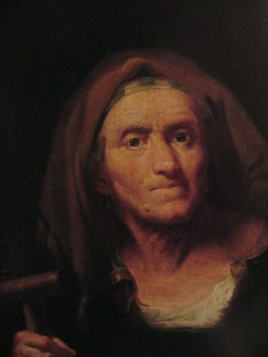 Portrait of an Old Woman | Bartolomeo Nazari | Oil Painting