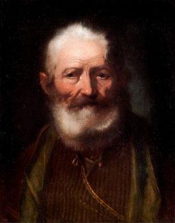 Old man in an eastern attire | Bartolomeo Nazari | Oil Painting