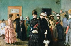 Albertine to see the Police Surgeon | Christian Krohg | Oil Painting