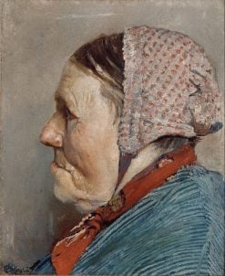 Ane Gaihede | Christian Krohg | Oil Painting