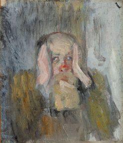 Self Portrait   Christian Krohg   Oil Painting