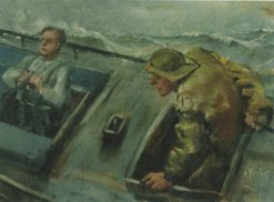 Er det land | Christian Krohg | Oil Painting