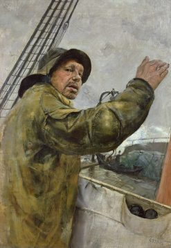 Babord litt | Christian Krohg | Oil Painting