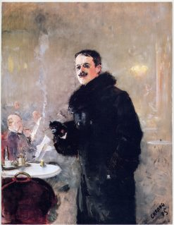 Portrait of the Painter Gerhard Munthe   Christian Krohg   Oil Painting