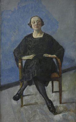 Naima Wifstrand   Christian Krohg   Oil Painting