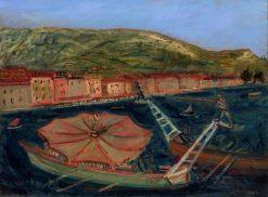 Seascape with Gondolas | Abraham Mintchine | Oil Painting
