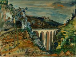 The Viaduct | Abraham Mintchine | Oil Painting