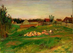 Village Landscape | Abraham Mintchine | Oil Painting