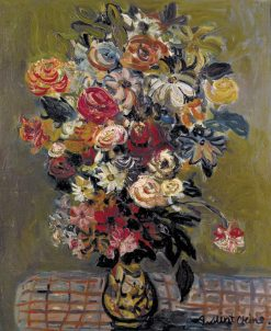 Flower Vase | Abraham Mintchine | Oil Painting