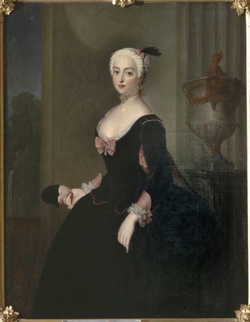 Anna Elisabet von der Schulenburg | Antoine Pesne | Oil Painting
