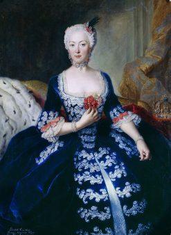 Portrait of Elisabeth Christine von Braunschweig-Bevern | Antoine Pesne | Oil Painting