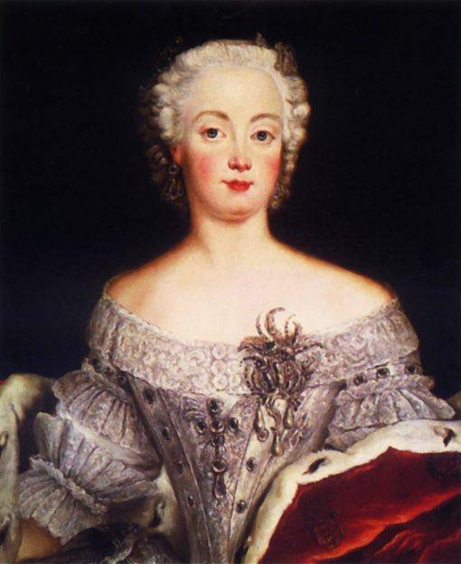 Portrait of Elisabeth Christine of Brunswick-Wolfenbuttel-Bevern | Antoine Pesne | Oil Painting