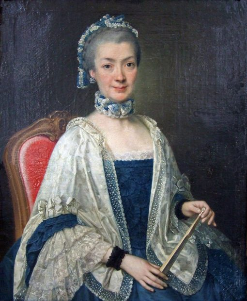 Portrait of a Lady | Antoine Pesne | Oil Painting