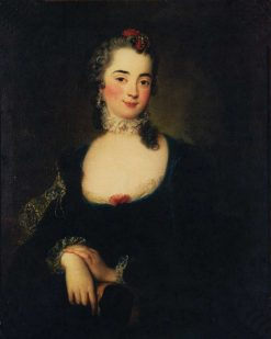 Giovanna Cortini-Denis | Antoine Pesne | Oil Painting