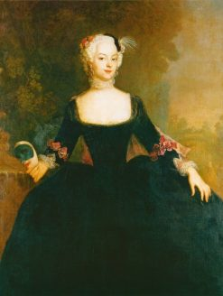 Court Lady | Antoine Pesne | Oil Painting