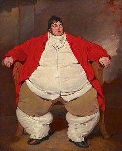 Daniel Lambert | Benjamin Marshall | Oil Painting