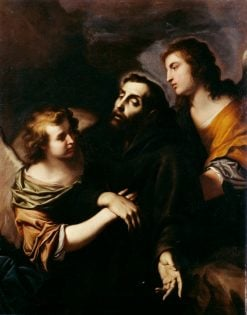 The Ecstasy of St. Francis | Pietro Novelli | Oil Painting