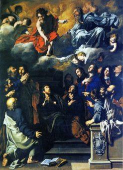 The Calling of Saint Matthew | Pietro Novelli | Oil Painting
