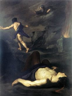 Cain and Abel | Pietro Novelli | Oil Painting