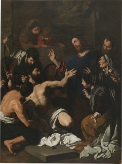 The Raising of Lazarus | Pietro Novelli | Oil Painting
