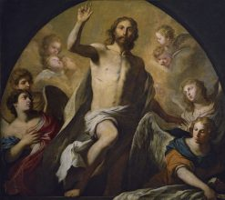 The Resurrection of Jesus Christ | Pietro Novelli | Oil Painting