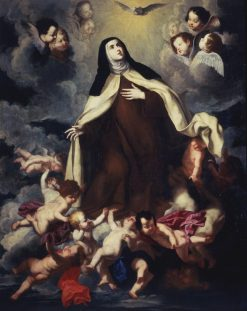 Saint Teresa in Glory | Pietro Novelli | Oil Painting