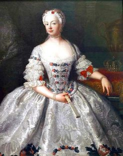 Portrait of the Queen of Prussia Elisabeth Christine of Brunswick-Bevern | Antoine Pesne | Oil Painting