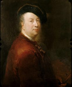 Self Portrait | Antoine Pesne | Oil Painting