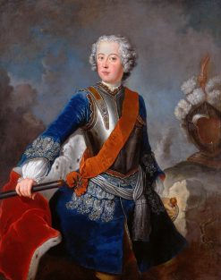 Crown Prince Friedrich of Prussia | Antoine Pesne | Oil Painting