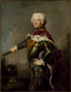 King Fredrik II | Antoine Pesne | Oil Painting