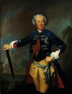 Frederick the Great as Crown Prince | Antoine Pesne | Oil Painting
