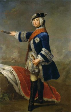 Friedrich II | Antoine Pesne | Oil Painting