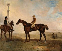 The Duke of Richmonds Rough Robin with the Jockey Frank Buckle Up | Benjamin Marshall | Oil Painting