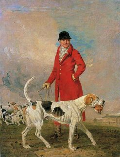 Thomas Hilton and His Hound Glory | Benjamin Marshall | Oil Painting