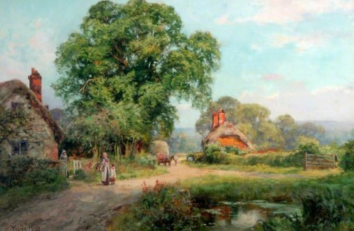 A Corner of the Lane | Henry John Yeend King | Oil Painting