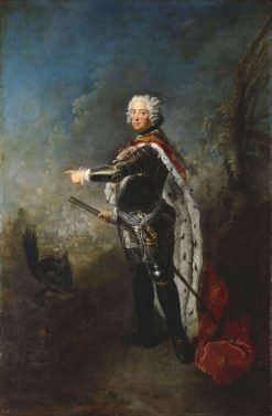 Portrait of Friedrich II of Prussia | Antoine Pesne | Oil Painting