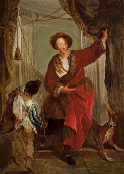 Portrait of Friedrich Ernst von Knyphausen | Antoine Pesne | Oil Painting
