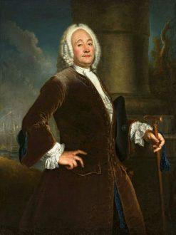 Portrait of Heinrich Vogel | Antoine Pesne | Oil Painting