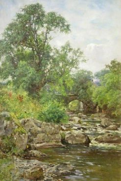 A Trout Stream near Chagford