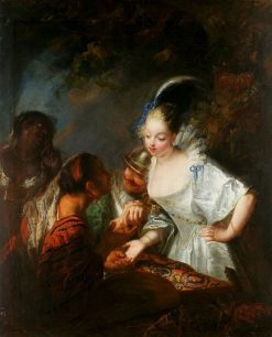 Gypsy Fortuneteller | Antoine Pesne | Oil Painting